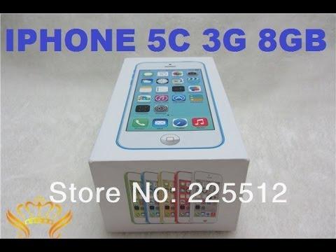 Обзор IPHONE 5C 3G 8GB - отличная копия!