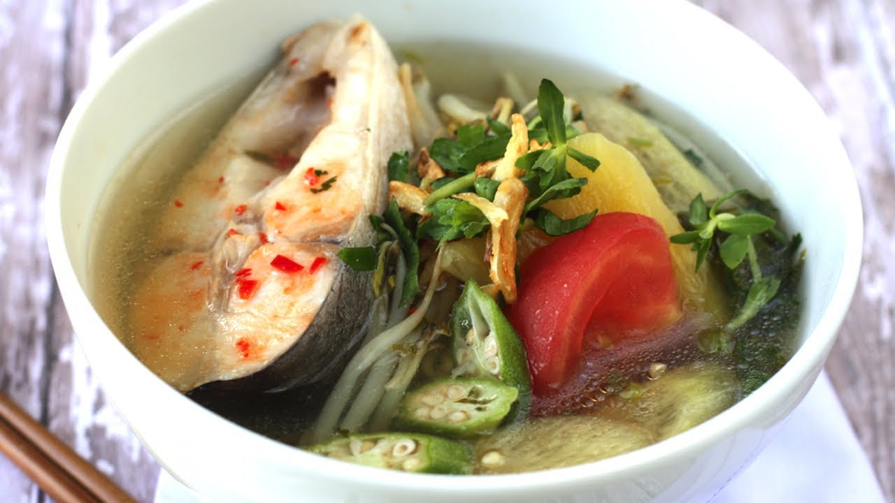How to make canh chua vietnamese sweet and sour fish soup for How to make fish soup