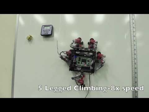 New Gecko-like Robot Can Crawl Up Walls | ESA Space Science HD