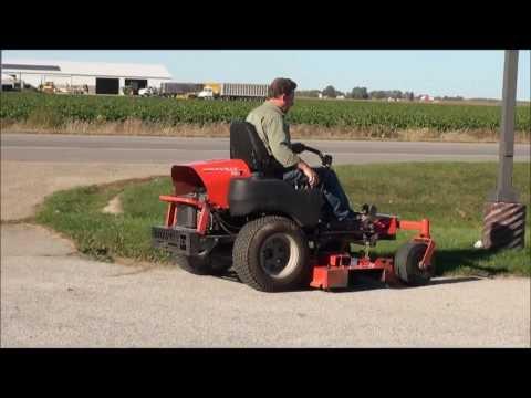 Gravely 260 Zero Turn Lawnmower