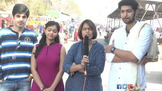 Padesave Movie Team Visits Vijayawada Temple | Karthik Raju, Nithya Shetty, Sam