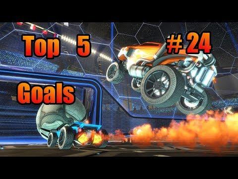 Rocket League Top 5 Best RL Goals #24 (Goals of the Week) German