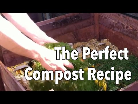 The Perfect Compost Recipe - How to Get Your Compost Heap Cooking