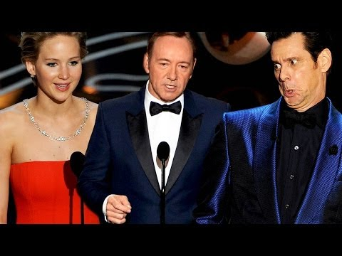 7 Best Presenter Moments 2014 Oscars - John Travolta, Jennifer Lawrence & More