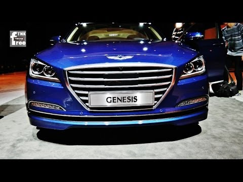 2015 Hyundai Genesis Sedan (2014 Hyundai Genesis) look around ( Interior, exterior )