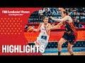 Spain v Belgium Highlights Semi Finals FIBA EuroBasket Women 2017