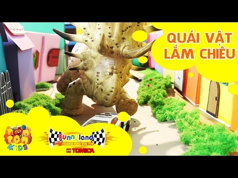 Hoạt hình xe đồ chơi - Thành Phố Tin Tin Tomica - T4: Quái Vật Lắm Chiêu - Funnyland