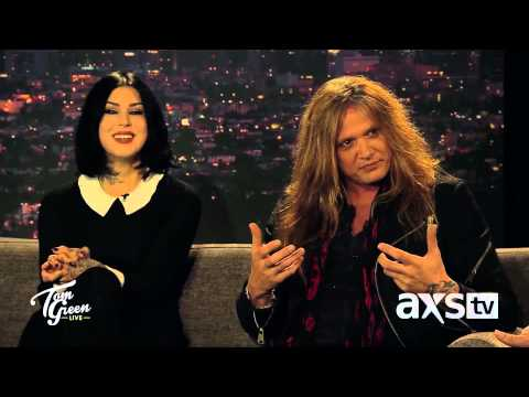 Sebastian Bach Talks About New Album on Tom Green Live