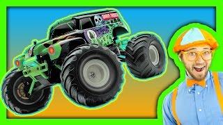 Monster Trucks For Children