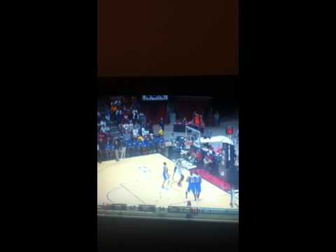 John Henson putback dunk Summer league 2013