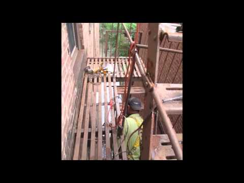 FIRE ESCAPE FULL REFURBISHMENT NEW YORK (917) 254-0960