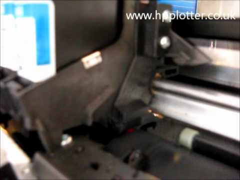 Designjet 430/450/488 Series - Cartridges + data error on your printer