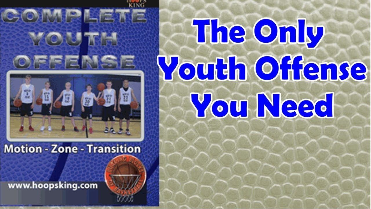 Complete Youth Basketball Offense Fastbreak, Zone Offense ...