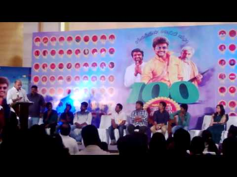 Sathyaraj Speech at VVS 100 day Celebration