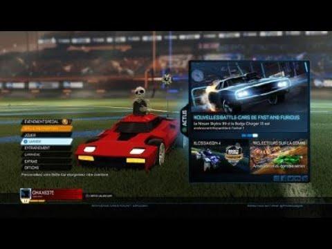 Gameplay sur Rocket League®