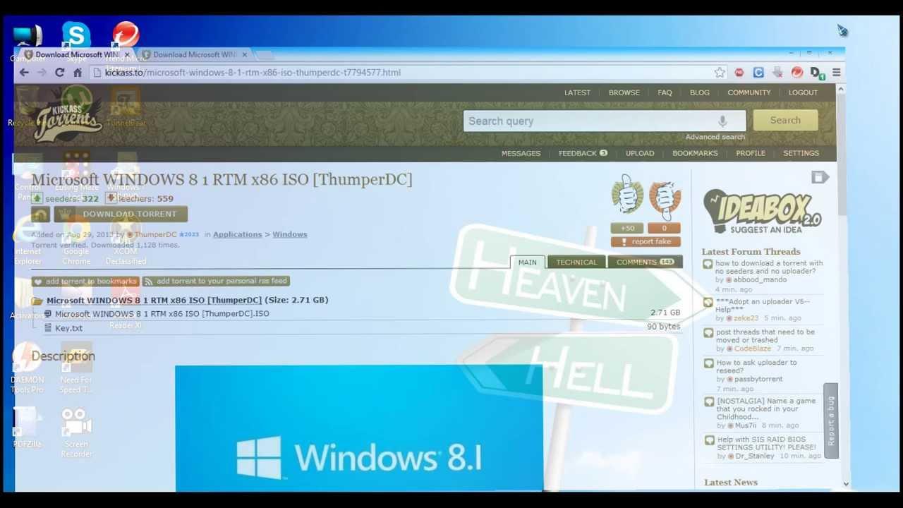 Download microsoft windows 8 1 rtm iso free youtube - Open office 64 bit windows 8 ...