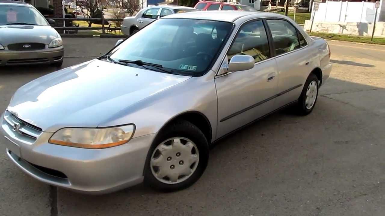 2000 honda accord lx gas mileage for Honda accord fuel economy