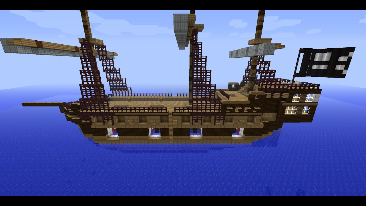 Displaying 19 gt  Images For - Pirate Ship Minecraft Design   Pirate Ship Minecraft Design