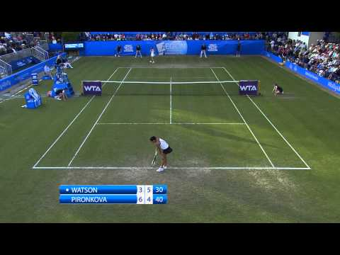 Heather Watson vs Tsvetana Pironkova Highlights Day 2