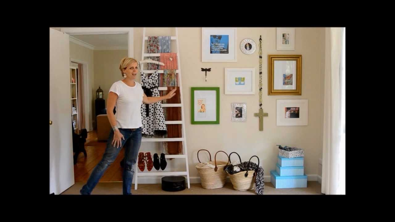 how to hang multiple prints as a wall gallery with ria fitzgerald interior stylist youtube. Black Bedroom Furniture Sets. Home Design Ideas
