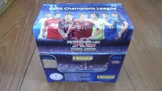 BOOSTER BOX Opening Panini ADRENALYN XL CHAMPIONS LEAGUE