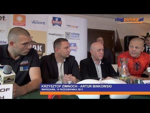 Binkowski - Zimnoch: Spięcie na konferencji prasowej