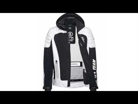 Bogner Team T Mens Ski Jacket in Black