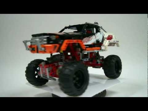 LEGO Technic 9398 4x4 Crawler Review & Time Lapse Build