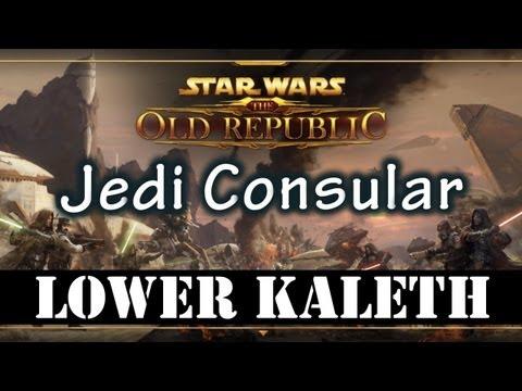 SWTOR Beta - Tython Lower Kaleth (Jedi Consular Gameplay)