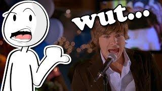 High School Musical doesn't make any sense...