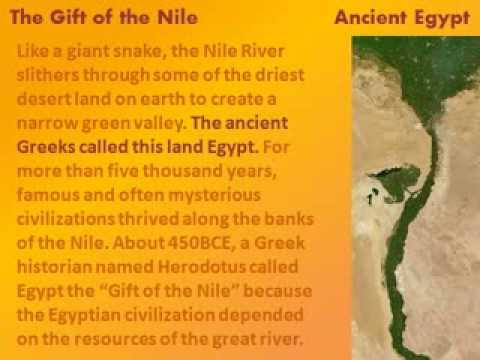conclusion on egypt the gift of nile The neoliberalist challenge conclusion 2 egypt: gift of the nile the elusive  quest for food security and the modernization imperatives after modernization.