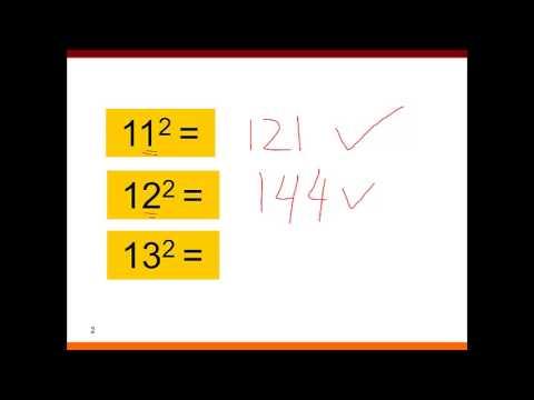 Tanya Jawab 014 Cara Hitung Cepat Kuadrat 2 Angka Belasan