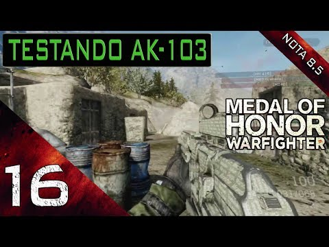 Medal of Honor Warfighter Testando AK-103 #1