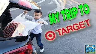 ANTHONY TAKES SURPRISE SHOPPING TRIP TO TARGET FOR  NEW TOYS! DINGLEHOPPERZ SKIT
