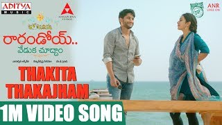 thakita-thakajham-1m-video-song