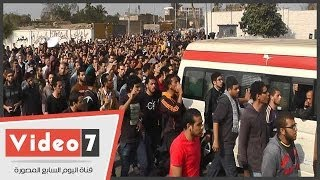 Hao123-بالفيديو   جنازة حاشدة لطالب هندسة القاهرة   وأمه تبحث عنه
