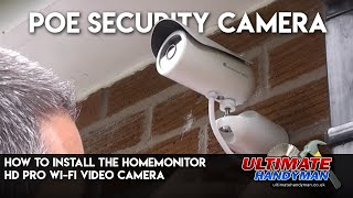 Homemonitor HD pro Wi-Fi video camera install
