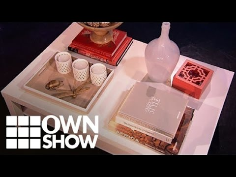 Design A Styled Coffee Table with FABOO! #OWNSHOW