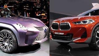 BMW X2 vs Lexus UX — новые мини-кроссоверы. Тесты АвтоРЕВЮ.