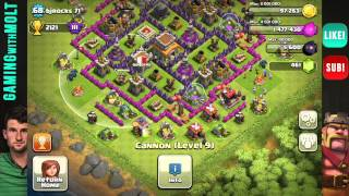 Clash Of Clans Crystal League Base Reviews!