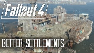 Fallout 4 - SETTLEMENT BUILDING TIPS AND TRICKS | CLIPPING ISSUE FIX