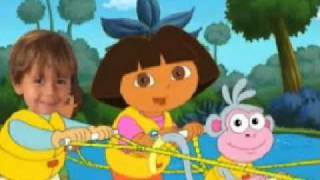 Dora, Diego And Me Personalized DVD For Kids