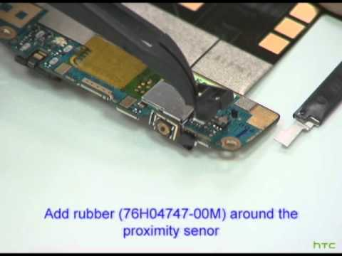 HTC Desire Assembly Video