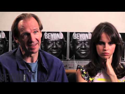 "Ralph Fiennes & Felicity Jones talk ""The Invisible Woman"" at Tiff 2013"