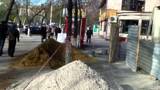Construcție ilegală în centru de capitală
