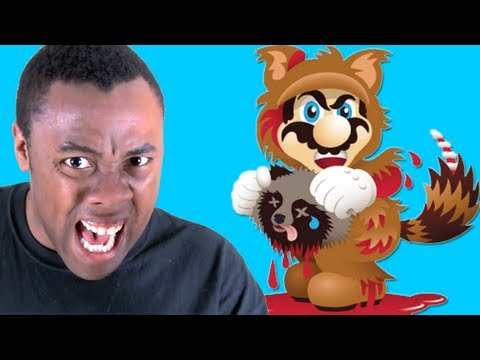 RANTS! MARIO, FUR IS MURDER! Black Nerd Rants on PETA vs. Super Mario 3D Land