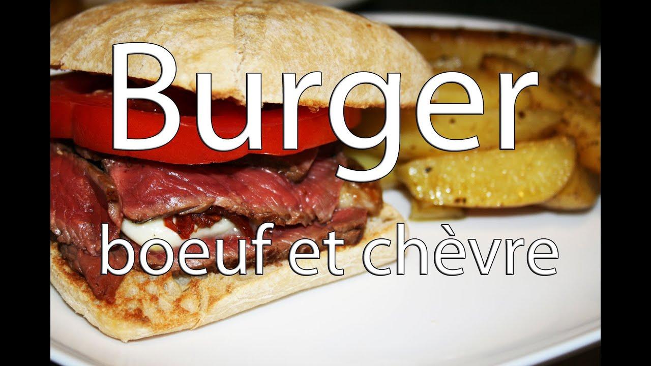 recette burger au boeuf ch vre r ti au miel et pignons torr fi s youtube. Black Bedroom Furniture Sets. Home Design Ideas