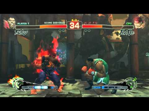 Super Street Fighter IV Arcade Edition, Shin Evil Ryu Appears, The Second Time