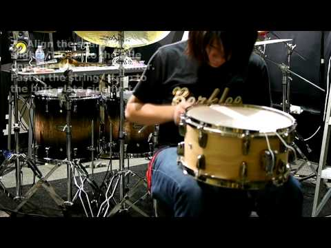 Steven Chen - Snare Drum Tuning (video lesson)
