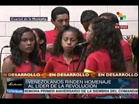 Venezuela commemorates Chavez one year after his passing